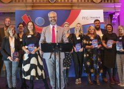 Businesses raise the bar at social impact awards