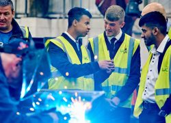 Engineering apprenticeships on display at Leeds Welding