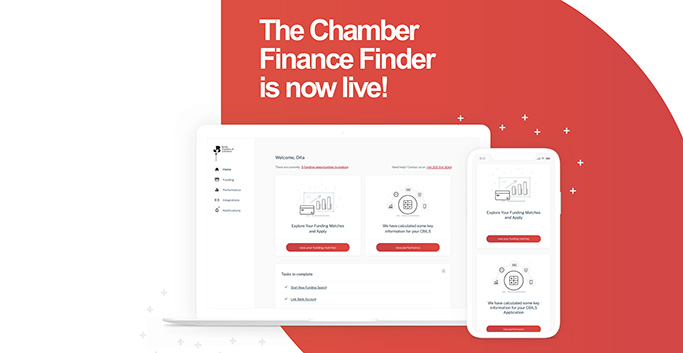 Chamber Finance Finder – transforming members' access to business finance
